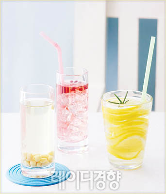 무더위와 갈증 잡는 냉장고 속 보약! 건강 식초 음료