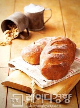 흑미호두쌀빵