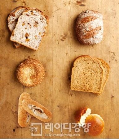 베이커리 브랜드의 건강빵 리스트