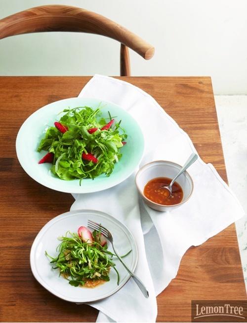 토종 나물 샐러드