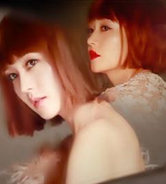 청순 미녀 성유리의 파격 오렌지 머리 변신!